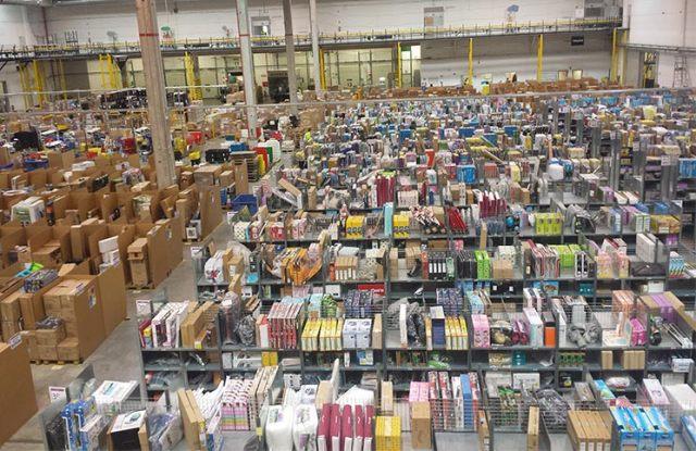 Centro logístico de Amazon España