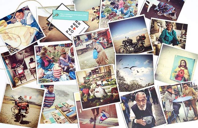 Paper Lover imprime las fotos y te las envía a casa