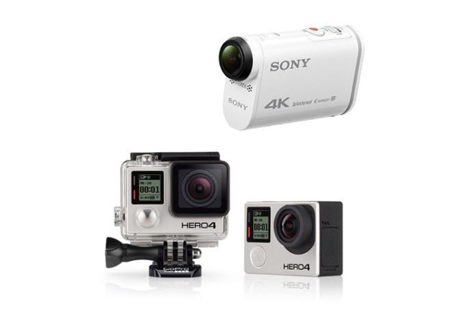 Camara-Accion-Sony-GoPro