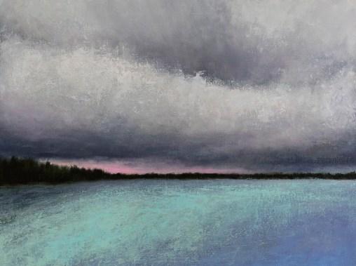 Kendra Gadzala Dark clouds over water 3
