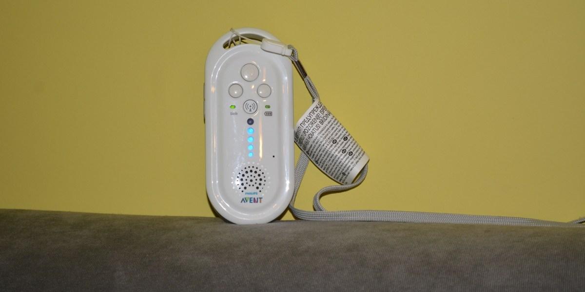 Avent Elektroniczna niania DECT SCD506/52