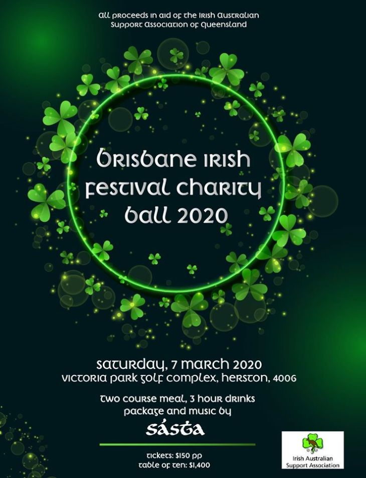 Brisbane Irish Festival Charity Ball