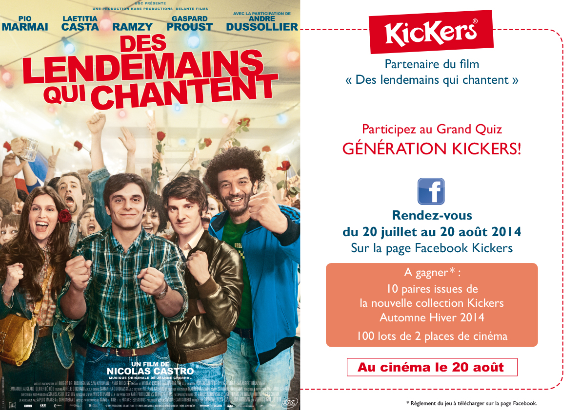 chevalet Kickers - Groupe Royer