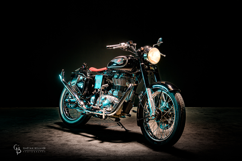 Atelier Orange Mecanique-Moto-Royal- Enfield-Photographe-Gaetan-Bouvier-Belleville-Cluny-Tournus