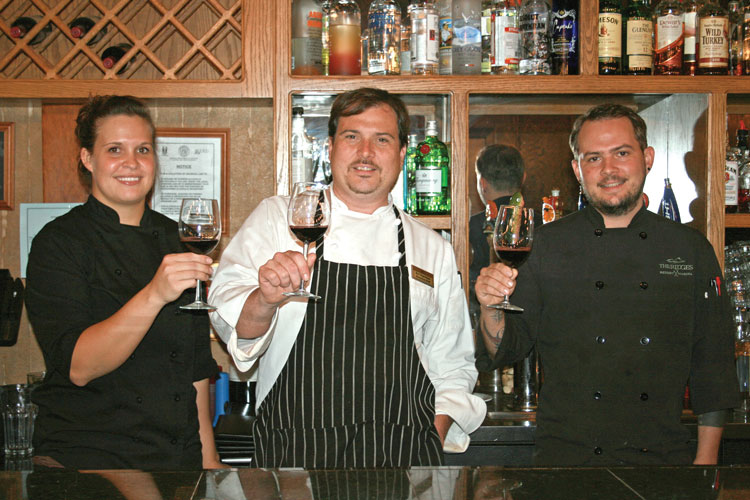 chefs at the oaks on lake chatuge at the ridges resort hiawassee georgia