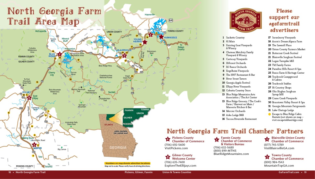 Farm Trail Map