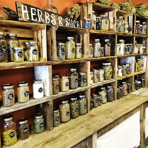 The Herbiary of Blue Ridge-spices