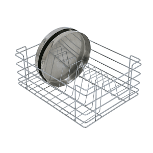Thali Basket (8″ Height X 12″ Width X 20″ Depth) Stainless Steel