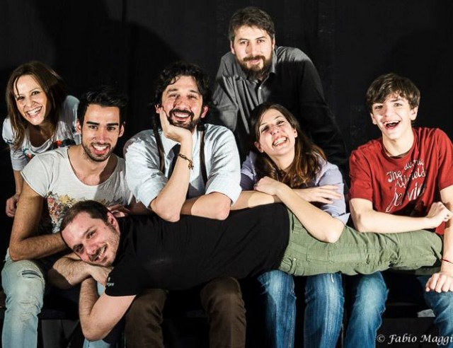 """Il cast de """"Il sonno dei giusti"""" - foto di Fabio Maggi"""