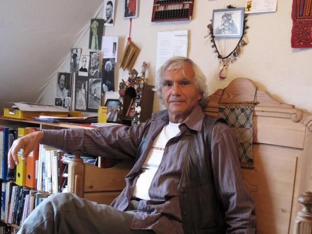 Eugenio Barba a Holstebro in una fotografia di Cassie Werber
