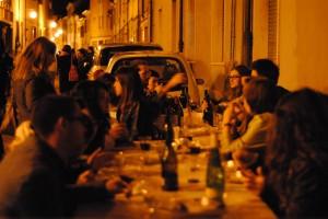 cena itinerante