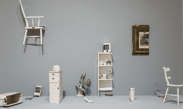 Yoko Ono, Half A Room, 1967 (part)