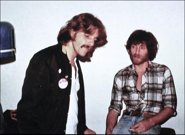 J.D. Souther con Glenn Frey degli Eagles negli anni Settanta