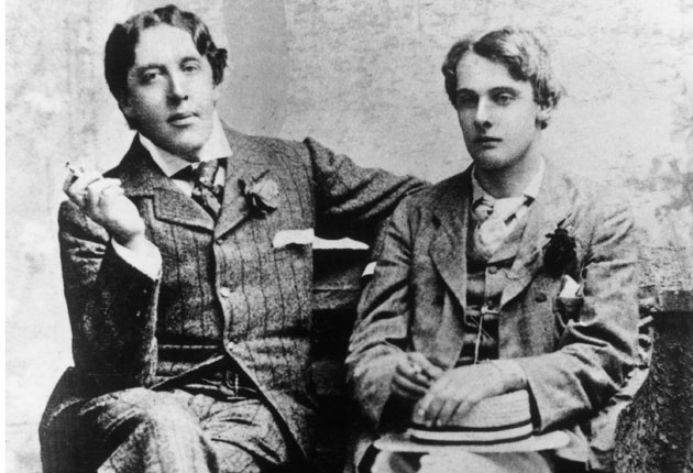 Ritratto di Oscar Wilde e Lord Alfred Douglas