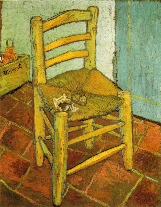 Vincent Van Gogh, La sedia - © The National Gallery, London. Bought, Courtauld Fund