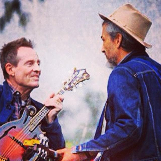 Howe Gelb con John Paul Jones