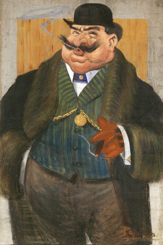 Tommaso Della Volpe, Il nuovo riccone, 1904