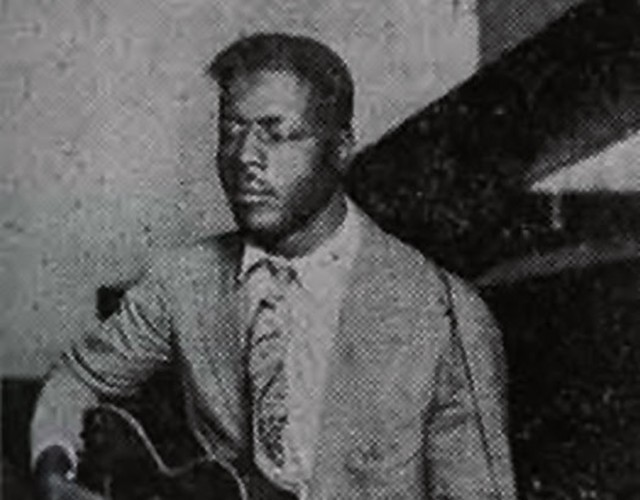 Blind Willie Johnson in una foto d'epoca