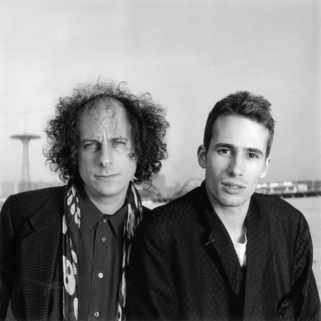 Gary Lucas con Jeff Buckley.