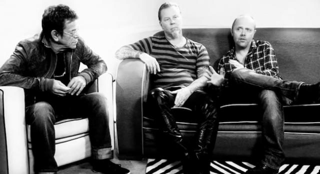 James Hetfield e Lars Ulrich al tempo della collaborazione con Lou Reed – 2011...