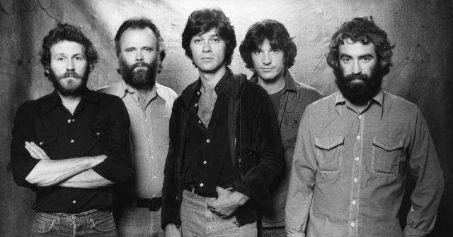 La Band nel 1976