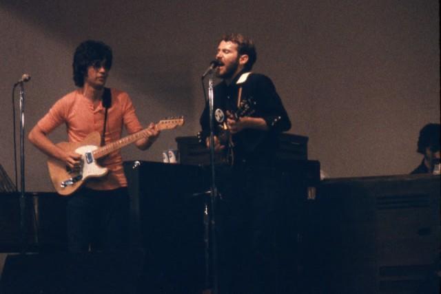 Robbie Robertson e Levon Helm nel 1970