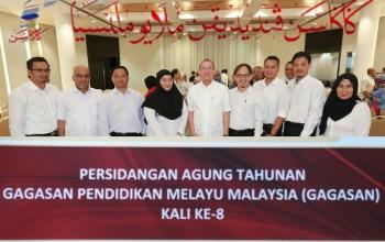 PERSIDANGAN AGUNG TAHUNAN GAGASAN PENDIDIKAN MELAYU MALAYSIA (GAGASAN) KALI KE-8