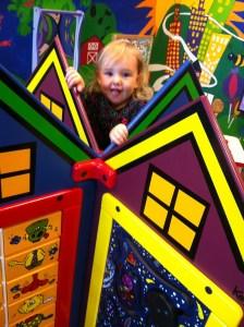 Texas Health Presbyterian Plano KIds Play Place, Ella Playing