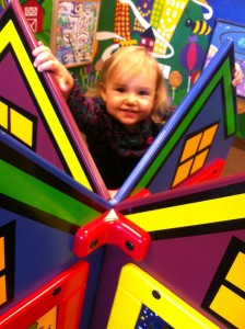 Presbyterian Hospital, Plano Play Room for Kids, Ella Smiling