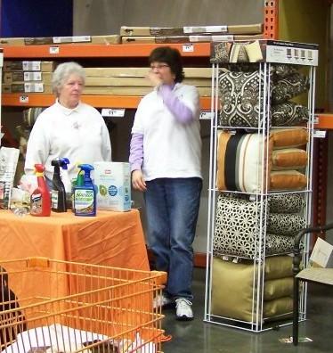 Jolene Adams at Home Depot 2012