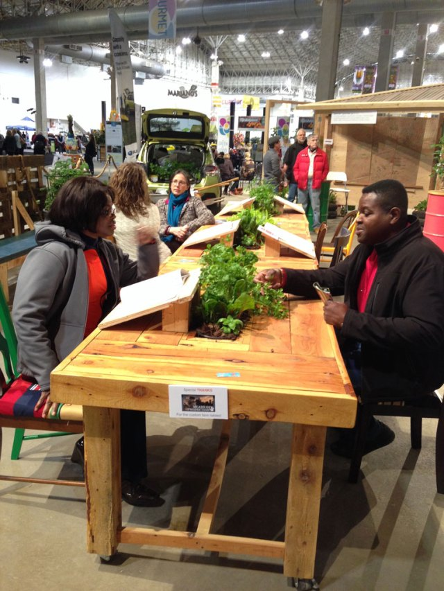 Peterson Garden Project at Chicago Flower & Garden Show