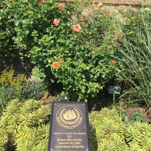 World Federation of Rose Societies Award of Excellence Garden