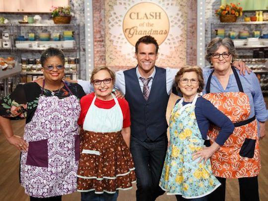 Clash of the Grandmas Thanksgiving 2016 on Food Network