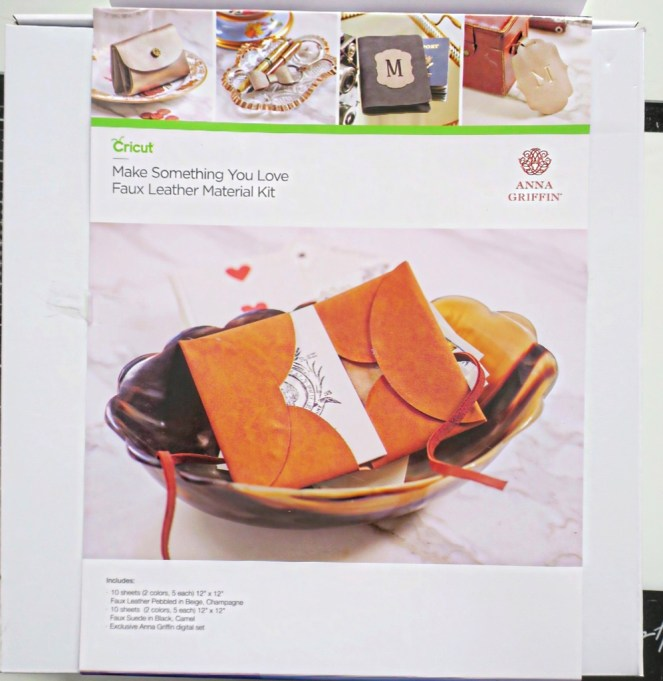 anna griffin make something you love faux leather kit gagegirl