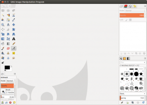 Gimp 2.8 Screenshot