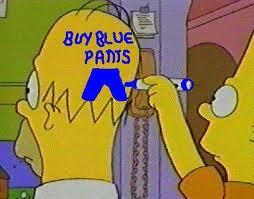 Homer Simpson Pants