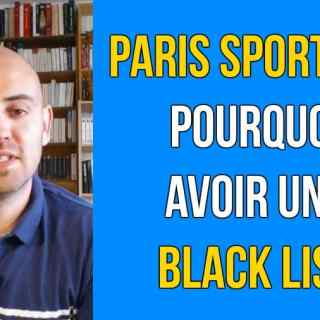 blacklist paris sportifs
