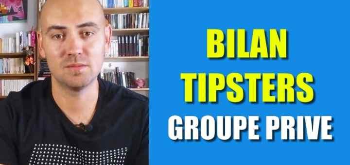 bilan tipsters groupe privé