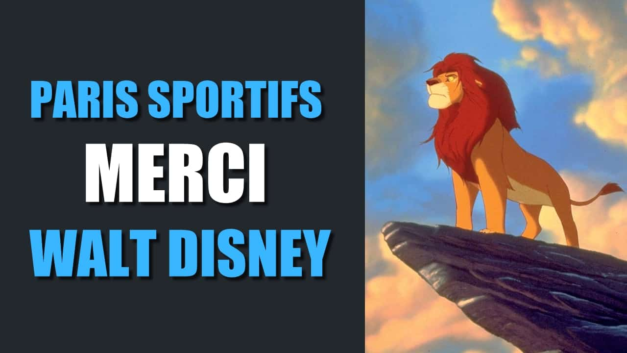 Paris sportifs Merci Walt Disney