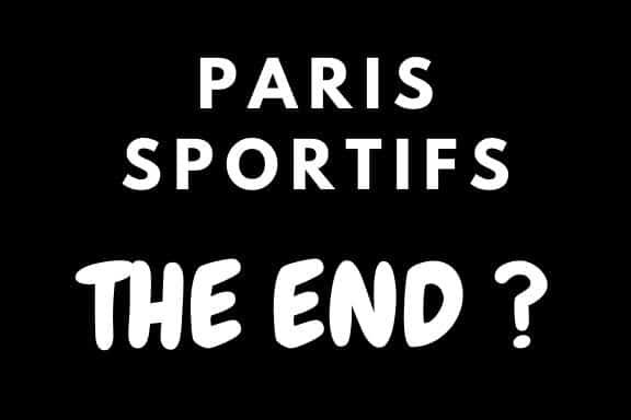 La fin des paris sportifs