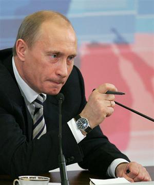 El presidente ruso Putin
