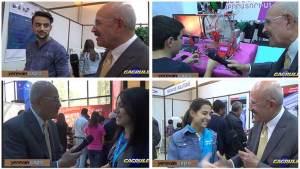 Wally Sarkeesian In Yerevan DigiTec Exploring Armenian Youth Talent. VIDEO
