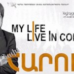 "Harout Pamboukjian on Saturday (May 20th) gave a concert called ""My Life"" in Yerevan to thousands of fans. Intense emotion"