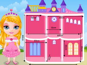 Barbie Doll House Room Decoration Games