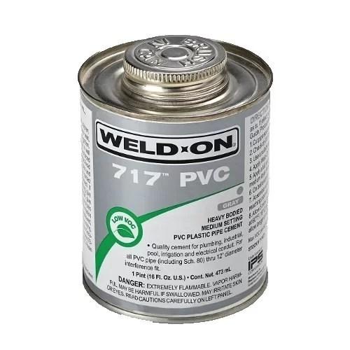 ADHESIVE MATERIAL FOR PVC