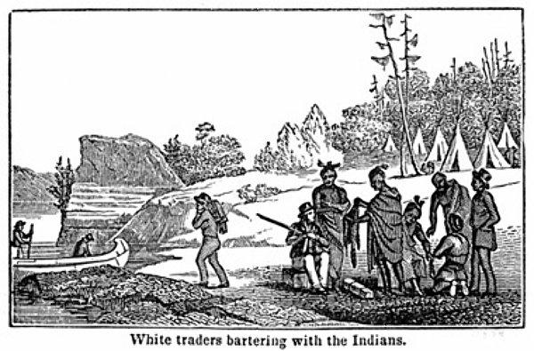 Razmena robe sa Indijancima