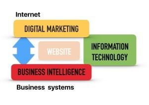 Segmenti digitalnog biznisa (IT, poslovna inteligencija (BI), digitalni marketing)