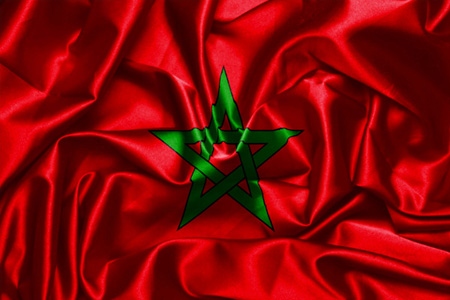 Marocco Flag Map