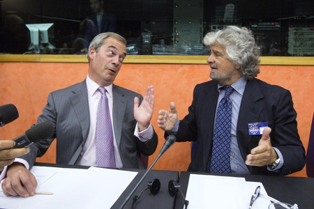 Nigel Farage 01 Beppe Grillo