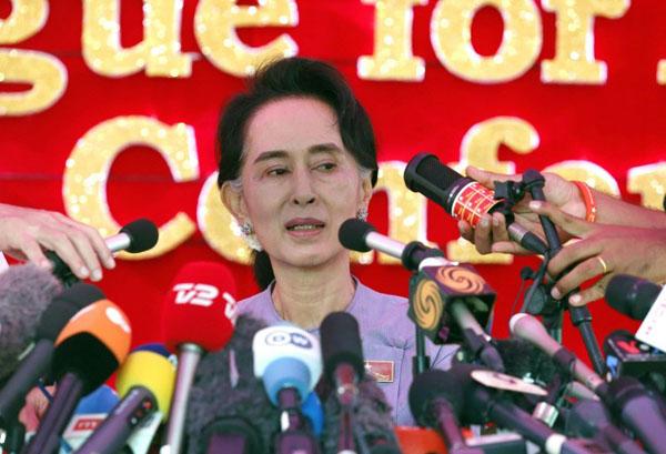 Aung San Su Kyi foto L'Unità (www.unita.tv)